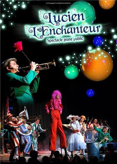 LUCIEN L'ENCHANTEUR – SPECTACLE DE NOËL